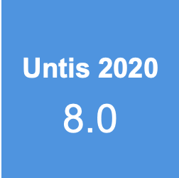 Update Untis 2020 versie 8.0